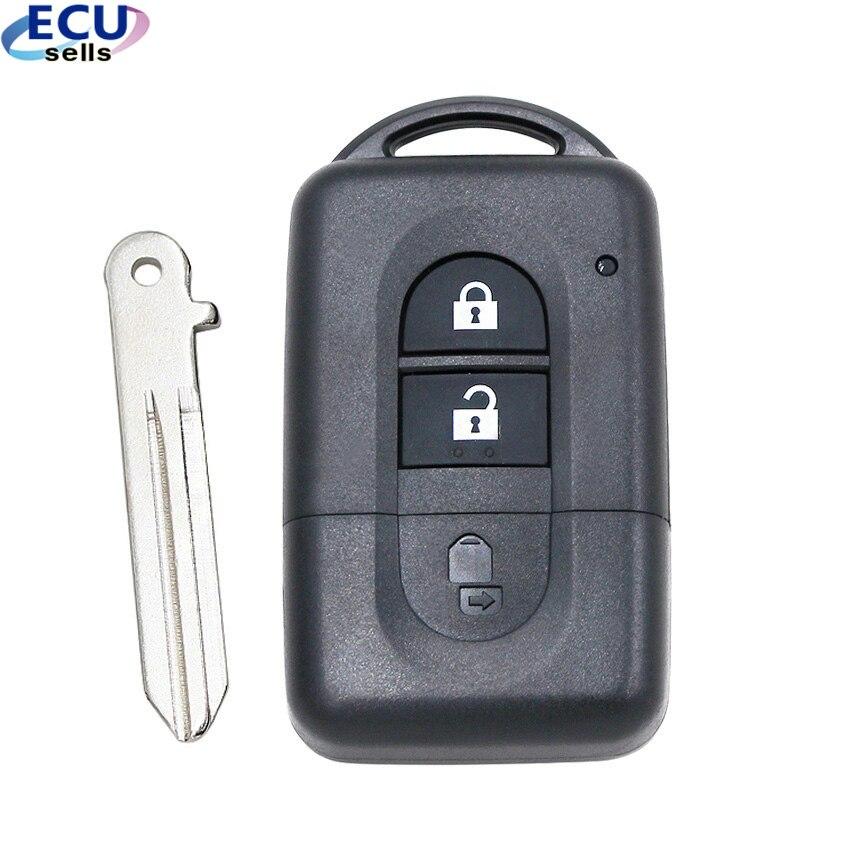 Chave de substituição remota para nissan, caixa inteligente para chave de carro nissan qashqai X-TRAIL micra note pathfinder