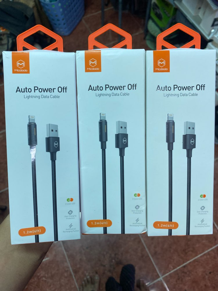 MCDODO Auto Disconnect Fast Charging For iPhone 11 Pro XS MAX XR X 8 7 6 Plus 5 USB Cable Cord Phone Charger Data Cable-in Mobile Phone Cables from Cellphones & Telecommunications on AliExpress