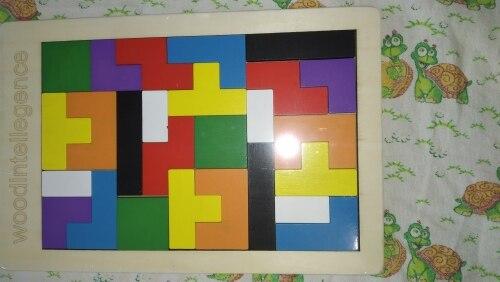 Wooden 3D Tetris Puzzle photo review