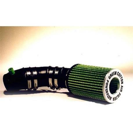 P561TKit Green Kit air Intake sport Powerflow Renault Megane II RS 2 0L I 16V Turbo 2|Air Filters| |  - title=