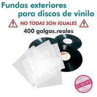 제안 200 lp는 기록 비닐 LP 400 gajes를 위해 폴리에틸렌을 커버합니다. 스페인에서 무료 배송 REM