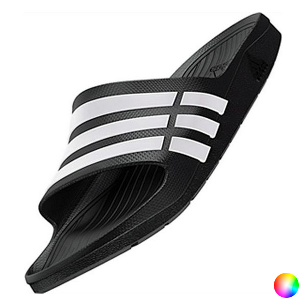 Men's Flip Flops Adidas Duramo Slide (Uk Size)