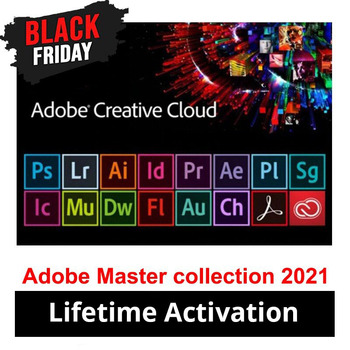 [Latest] Adobe CC Collection 2021 Windows 10 Photoshop, Illustrator, After Effects, Premiere Pro, InDesign, Lightroom...