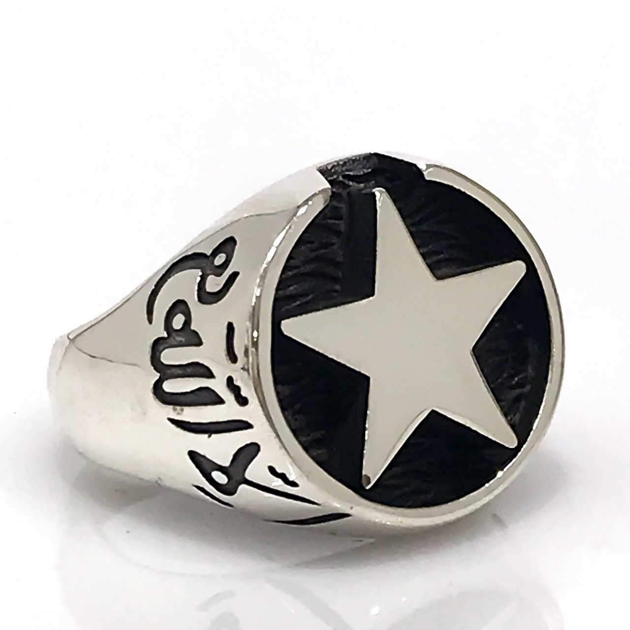 Robin Happy Victory Kut-ul Amare Silver Men 'S Ring
