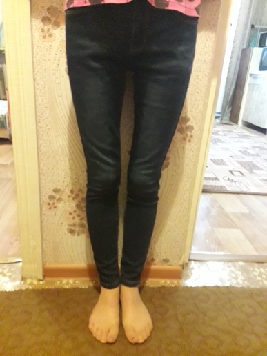 Jeans  For Woman  High Waist Plus  Size  Full Length Skinny Pencil Black Blue Denim Pants 100Kg photo review