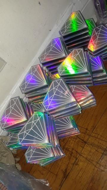 -- Personalizado Caixas Diamante