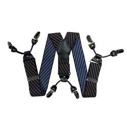 Подтяжки для брюк широкие (4 см, 6 клипс, Разноцветный) 55139