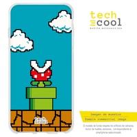 FunnyTech®Silicone Case for Xiaomi Mi 9T / 9T Pro l design Nintendo Super mario 8-Bits vers.4