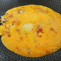 芥辣油煎荠菜蛋的做法图解4