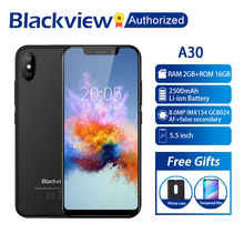 Blackview – téléphone portable A30, couleur noir, 2 go 16 go, android gratuit, bon marché