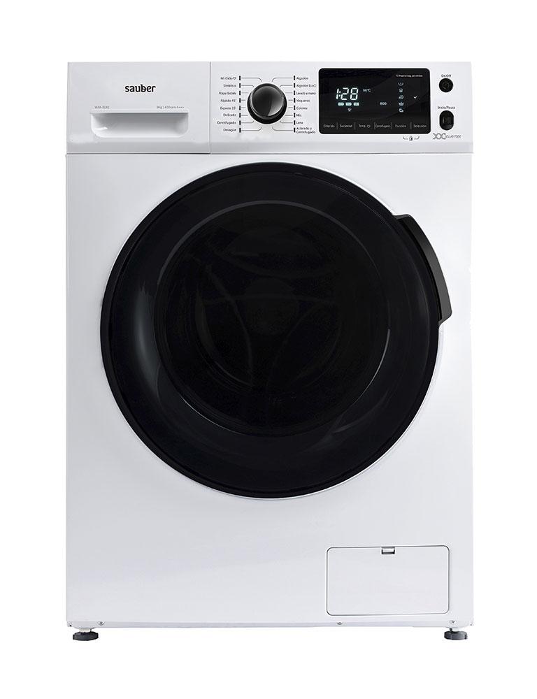 Washing Machine Front Load Sauber Wm1161 10 Kg 1600 Rpm A + + + White