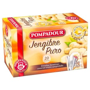 Pure ginger 20 bags Pompadour