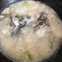快手鲜美鱼头豆腐汤的做法图解6