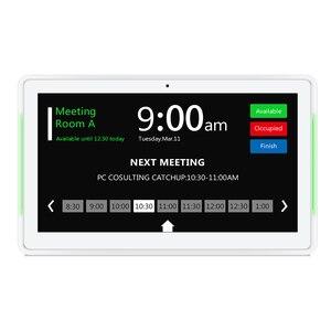Image 5 - 10.1 polegada android 8.1 poe fixado na parede tablet pc com barras de led para conferência sala de reuniões programação exibir open source, enraizado