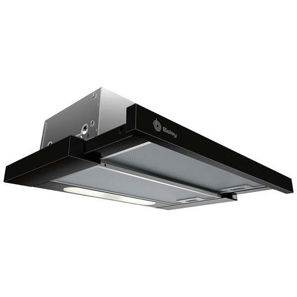 Conventional Hood Balay 3BT263MN 370 M3/h 54 DB 146W Black