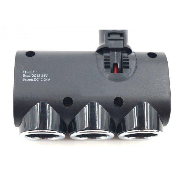 Car cigarette lighter socket splitter Eplutus FС 337 - 3