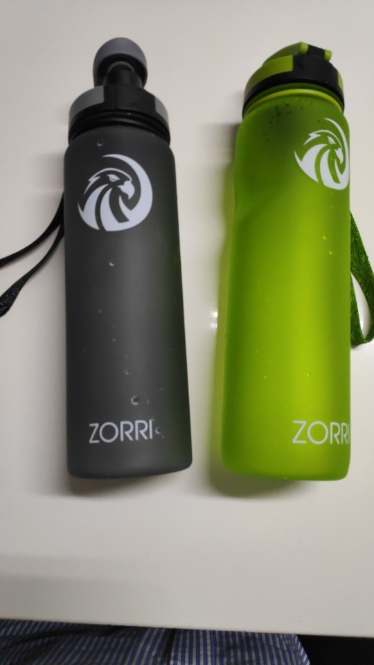 ZORRI Portable Sport Water Bottle BPA Free Plastic Outdoor Travel Carrying for Water Bottles Student gourde botellas para agua-in Water Bottles from Home & Garden on AliExpress