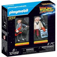 Marty Mcfly Playmobil-Figure-Toy Back-To-The-Future Original 70459 Doc Doctor Brown And