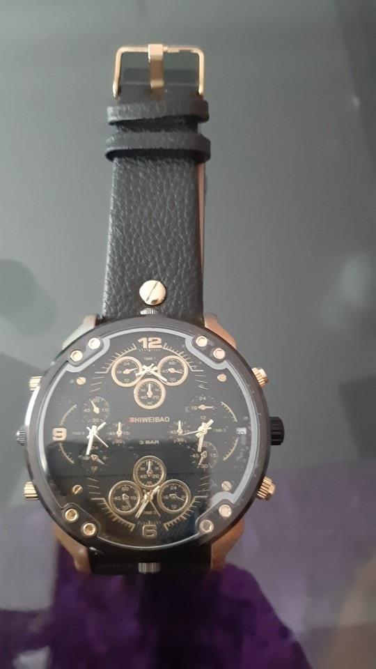 Men's Large Face Watch