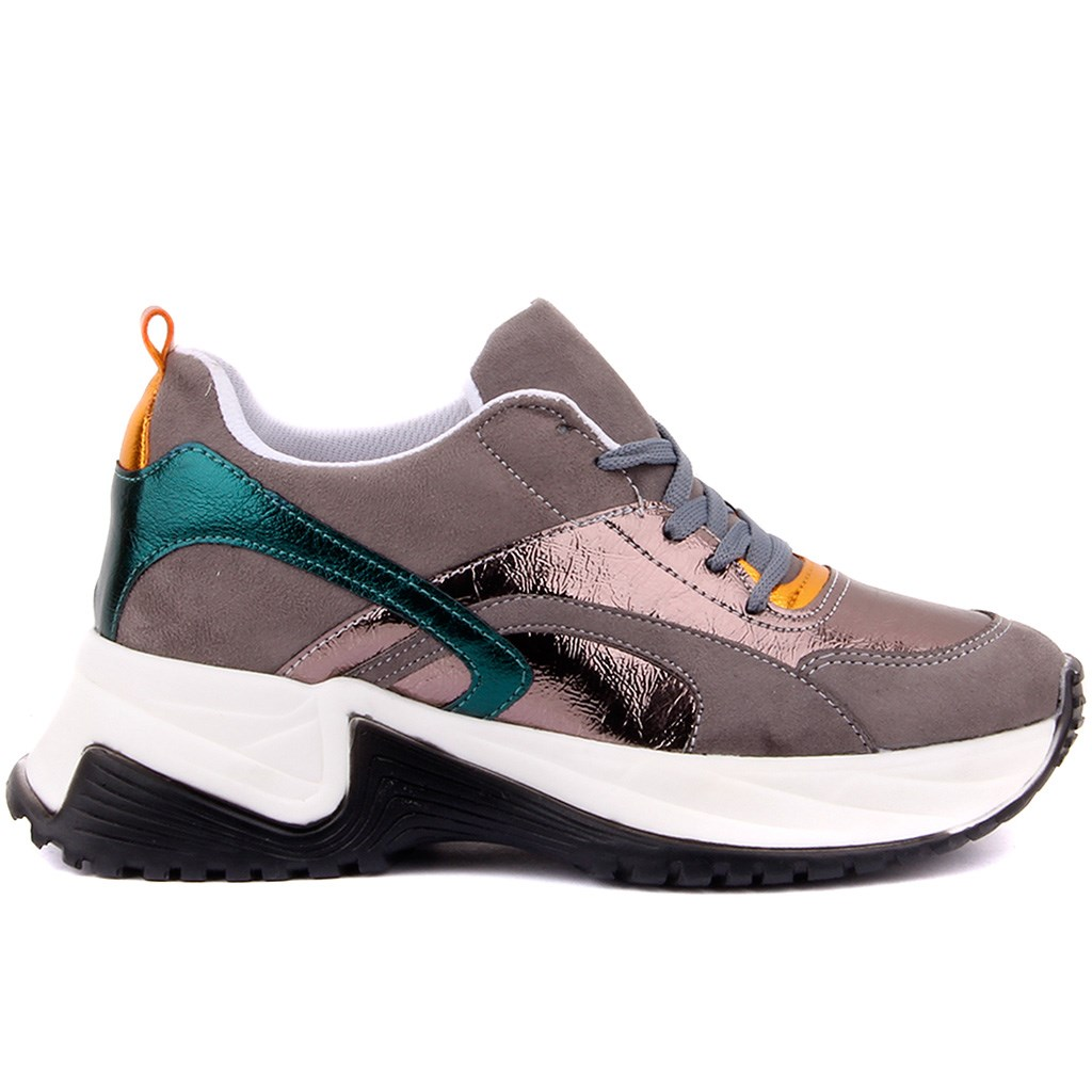 Pierre Cardin-Women Casual Sneakers Spring Autumn Sneakers Breathable Women Shoes Lace Up Female Boots Comrfortable Platform Shoes Women
