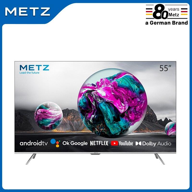 Televisión SMART TV 58 pulgadas METZ 58MUB6010 ANDROID TV 9,0 UHD Google asistente pantalla grande Control remoto por Voz 2 años de garantía|Smart TV| - AliExpress