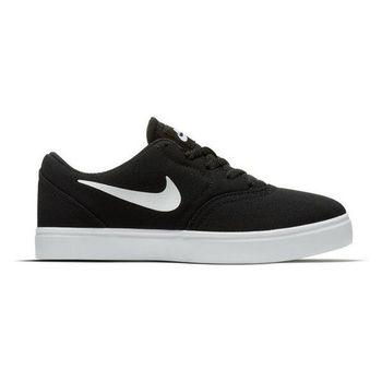 Children's Casual Trainers Nike SB Check CNVS Black