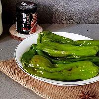 """史上最简单最好吃的糖醋辣椒,懒人必备#美食说出""""新年好""""#的做法图解6"""