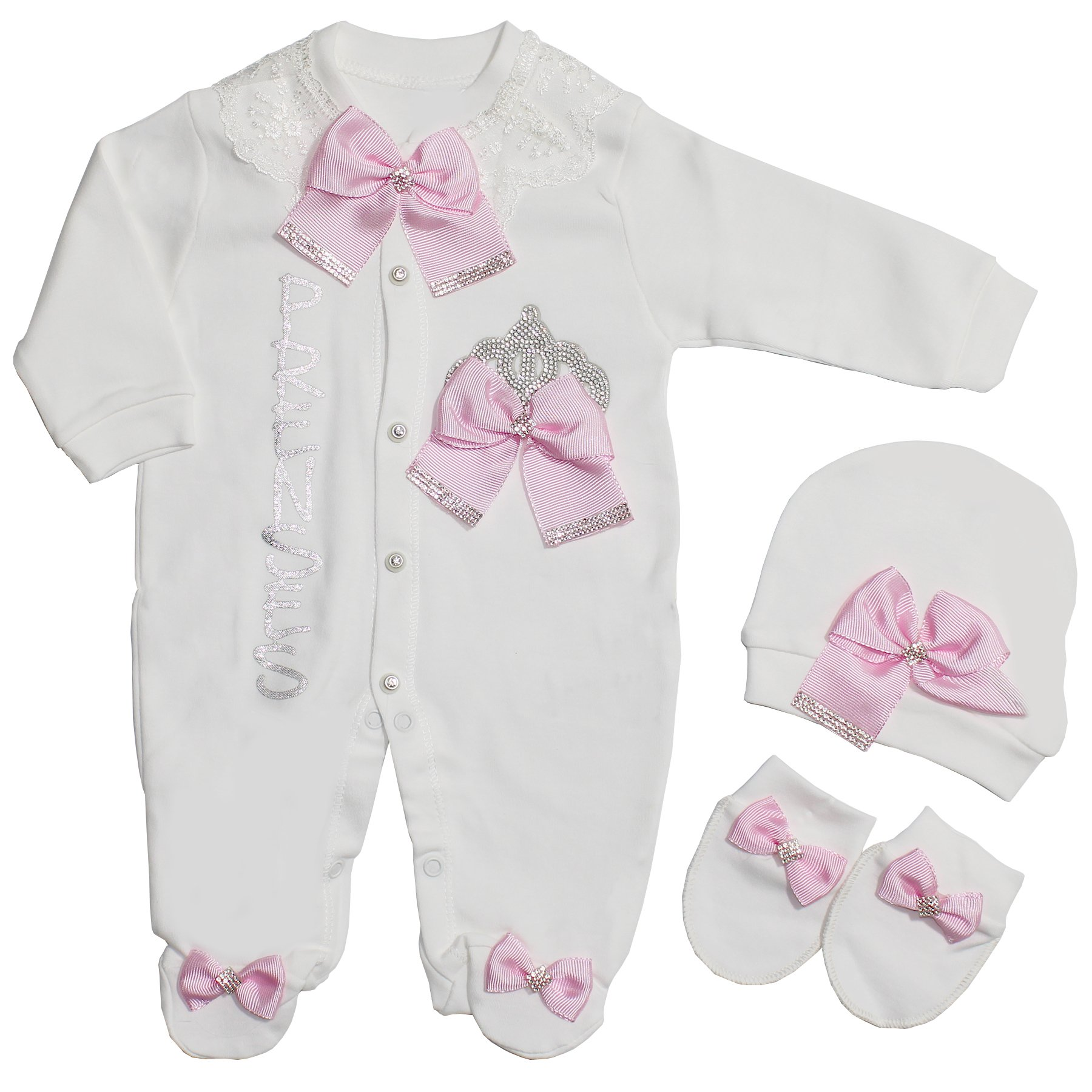 Princess Pink Kurdelalı Gemstone Lux Jumpsuit