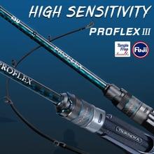 TSURINOYA 2Section Profession Bass Rod PROFLEX Ⅲ 1.95/2.01/2.10m Fast Action ML M Power High Sensitivity 2 Section Fishing Rod