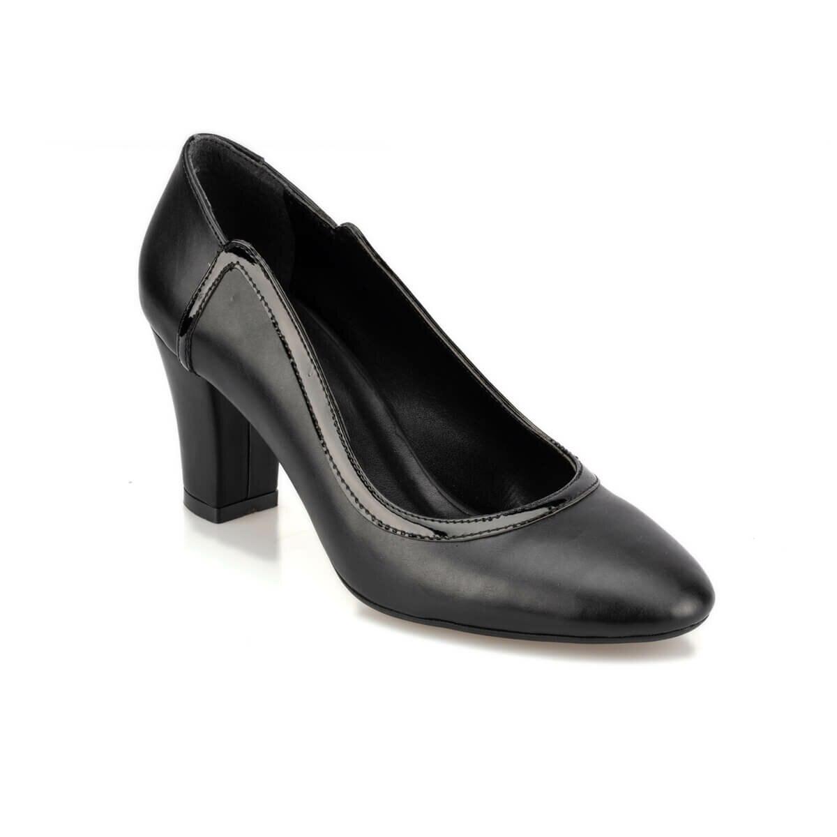 FLO 92.314125.Z Black Women Gova Shoes Polaris