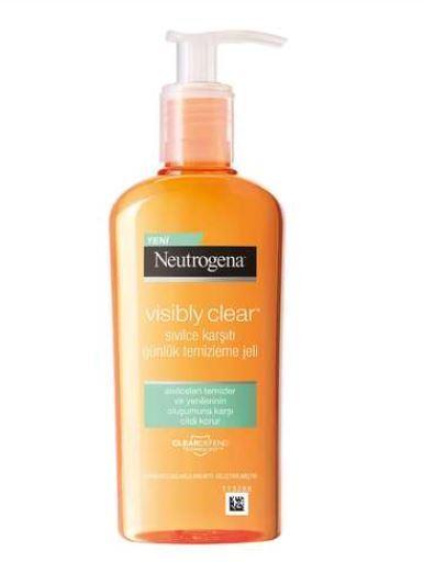 Neutrogena visible clear anti-acne daily cleanser gel 200 ml 1