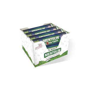 Pack 12 you. · Extra Strong mentholin without sugar