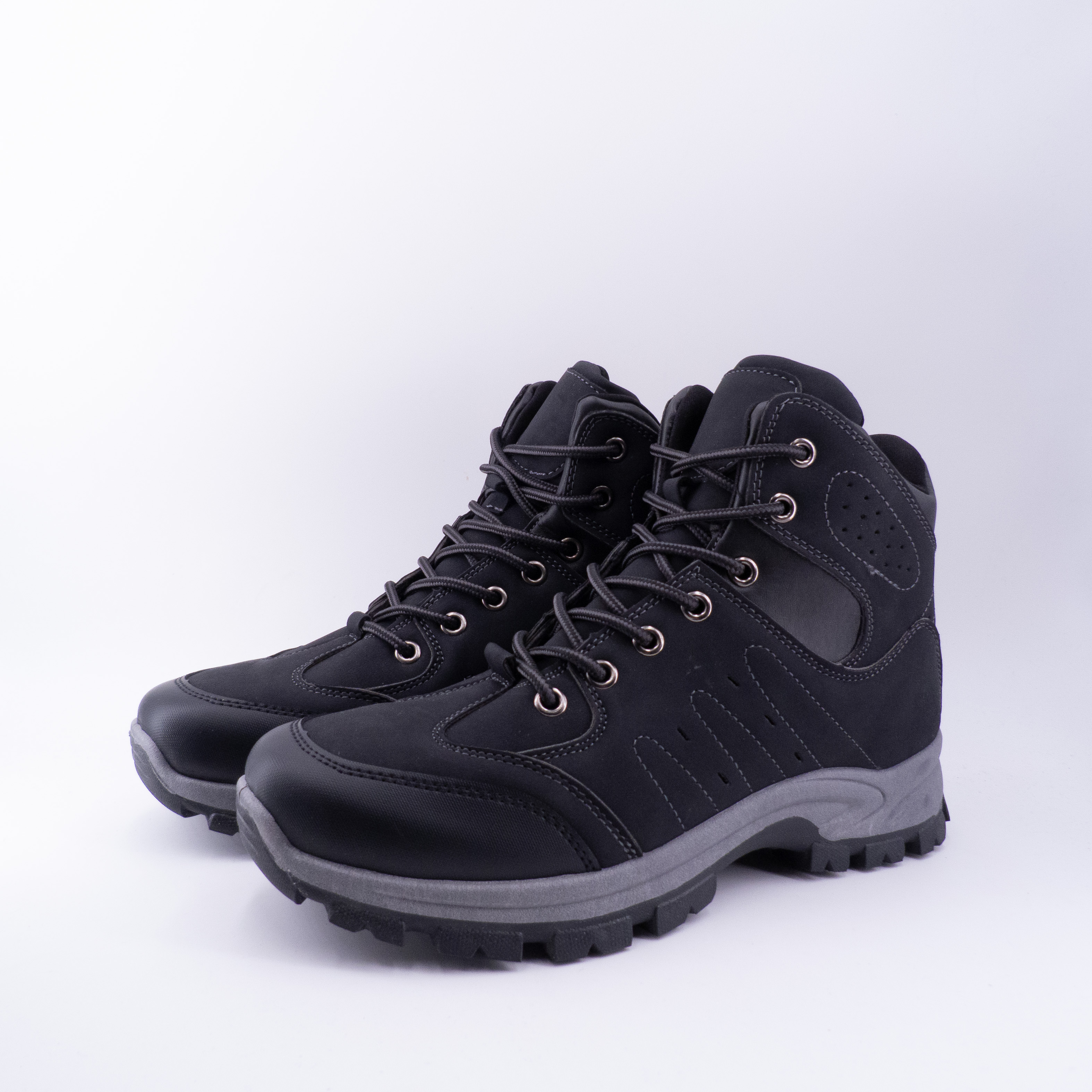 Winter Boots For Men Ankle Boots With Cords MOUNTAIN Sports Booties ANKLE BOOTS Man Casual Shoes Fashion