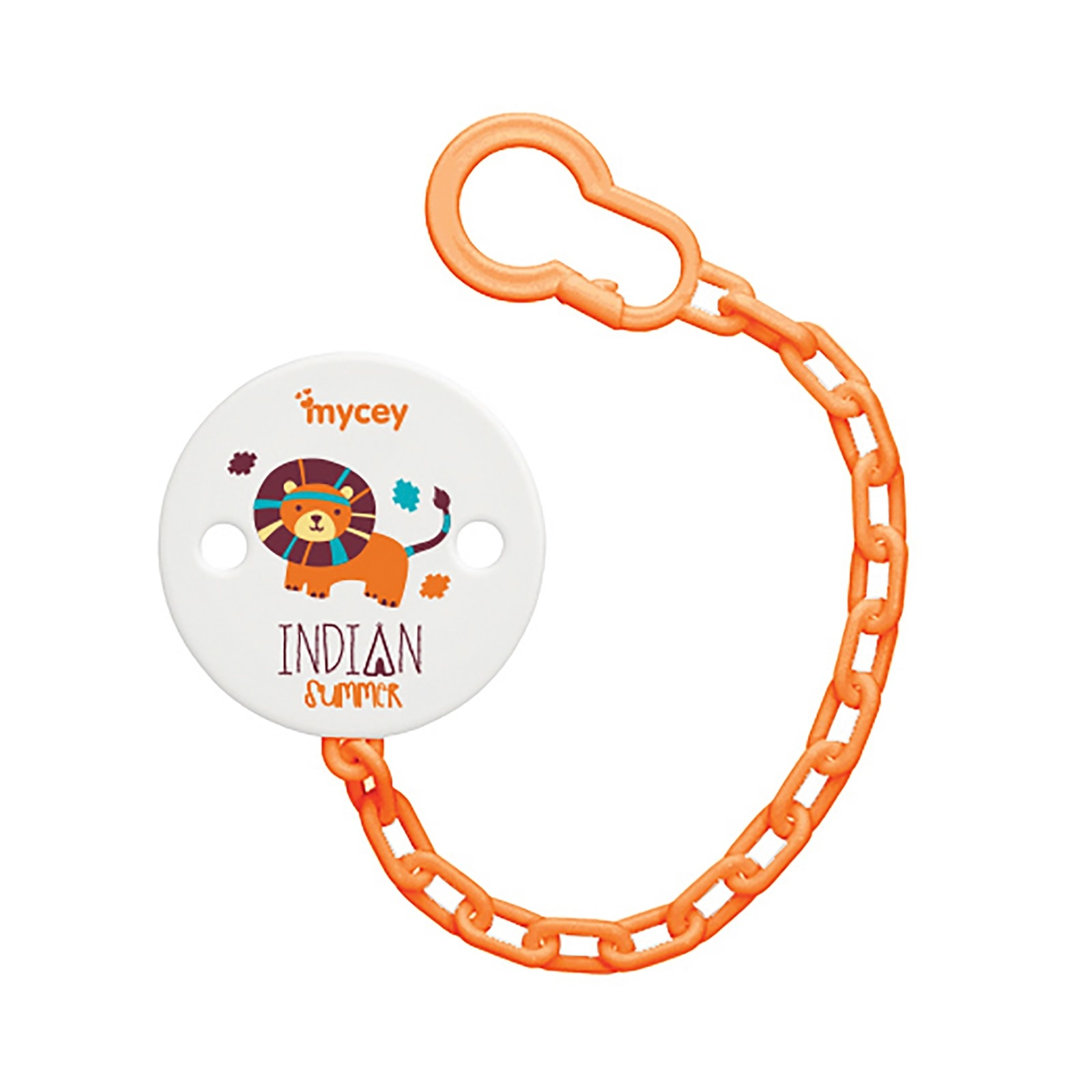Ebebek Mycey Bunny&Indian Baby Soother Chain Holder