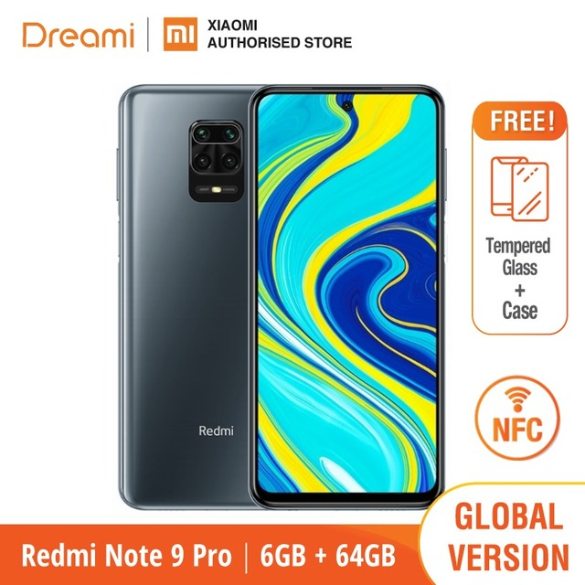 Global Version Xiaomi Redmi Note 9 Pro 6GB RAM 64GB ROM (Brand New / Sealed) redminote9pro, note9pro, Smartphone mobile 1