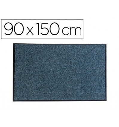 CARPET FOR FLOOR PAPERFLOW TEXTURED DUST ECOLOGICAL RECYCLED MATERIAL GRAY 90X150 CM