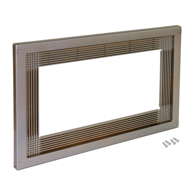 Frame Emuca To Fit Microwave In Plastic Finishing Satin Nickel