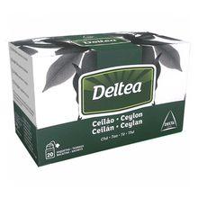 Thé noir ceylan 20 sachets individuels Deltea