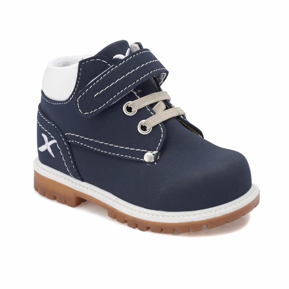FLO MOIRA Navy Blue Male Child Boots KINETIX