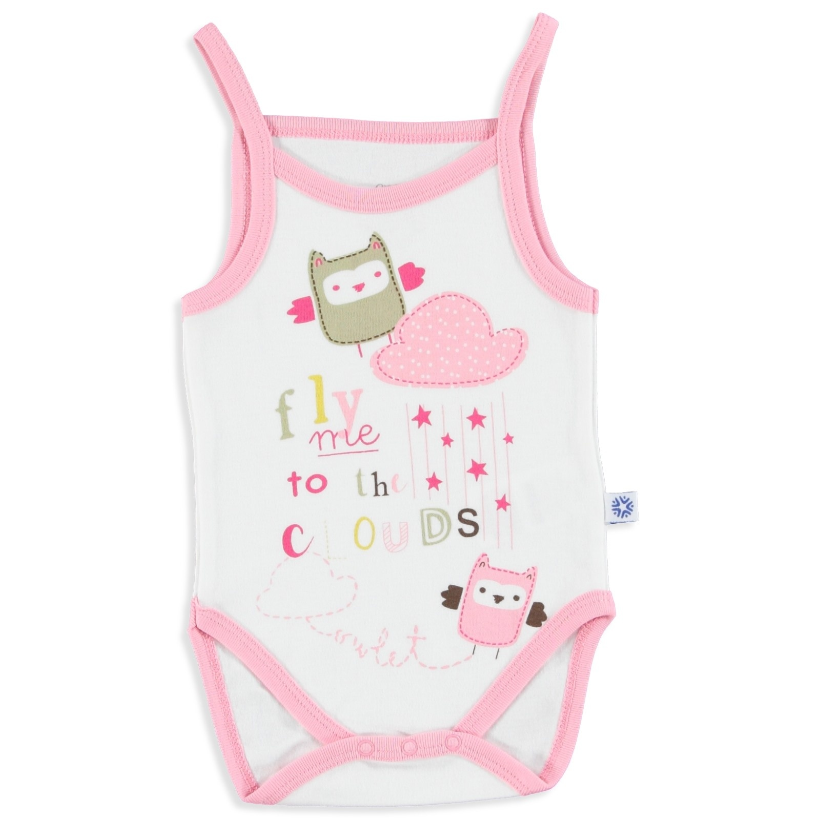 Ebebek Luggi Summer Baby Girl Friends Rope Strap Bodysuit
