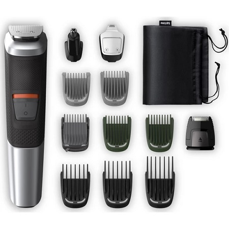 <font><b>Philips</b></font> <font><b>5000</b></font> Series MG5740 / 15 12 in 1 Male Grooming Kit Multigroom <font><b>Shaver</b></font> Grooming Kit image