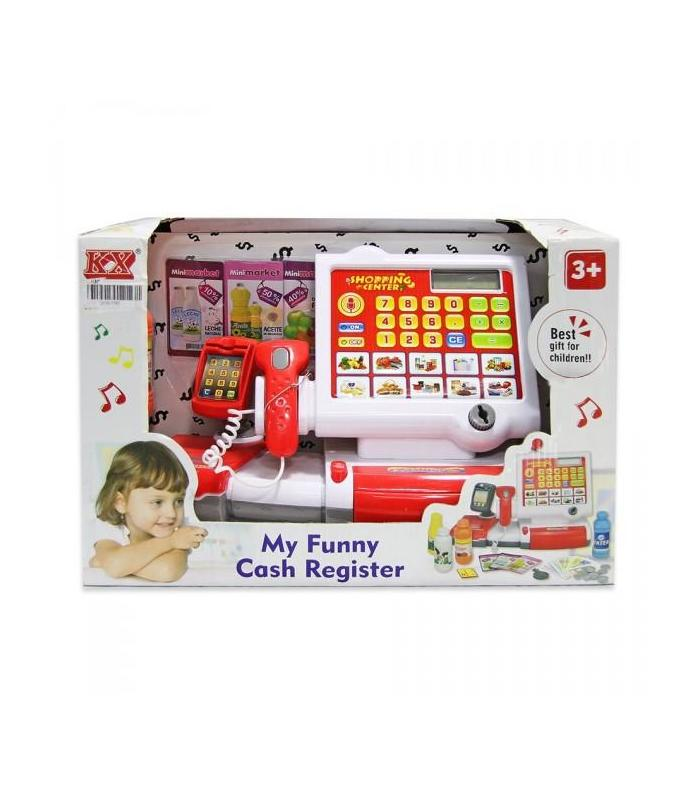 Cash Register Child With Screen And Numbers Toy Store Articles Created Handbook