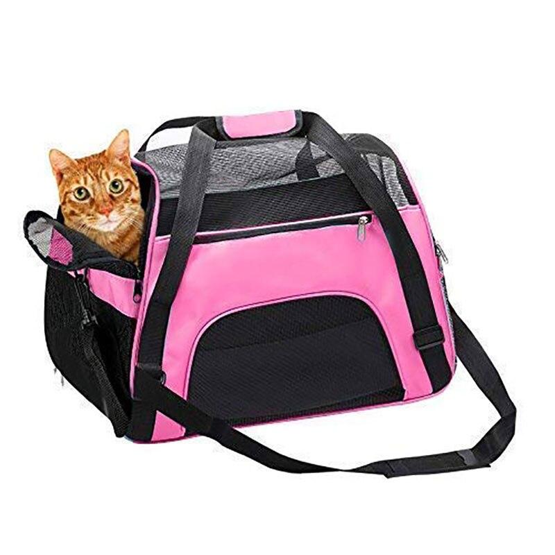 Portátil pet cão gato sacos de viagem ao ar livre pet cão portador saco pet lidar com sacos cabeça transporte para gatos cães transporte