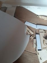 Quickly got from the warehouse of the Russian Federation. in 4 days. The box was whole, bu