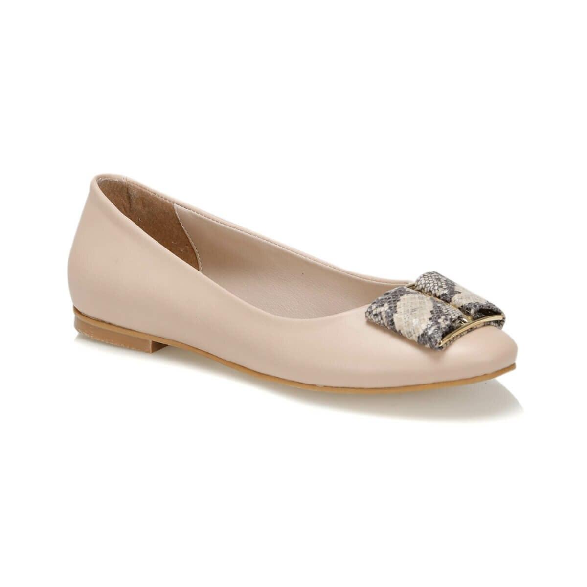 FLO 19S-203 Beige Women Gova Shoes BUTIGO