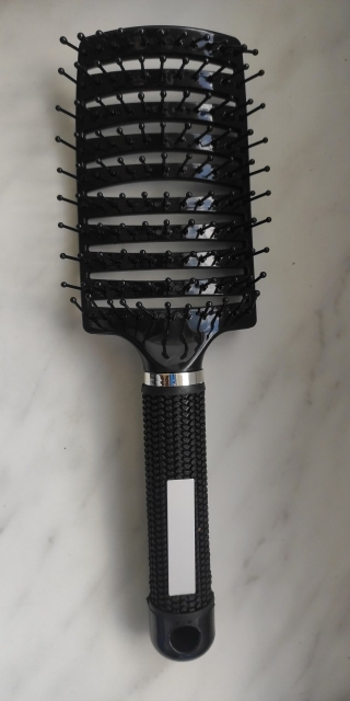 Buy 2 Get 2%off Hair brush Girls Hair Scalp Massage Comb Women Wet Curly Detangle Hair Brush for Salon Hairdressing Styling Tool photo review