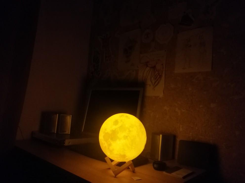 Ultimate Multicolours Moon Lamp 18CM photo review
