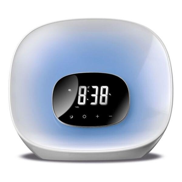 Clock Radio Daewoo DCR 470 LED White|Radio| |  - title=