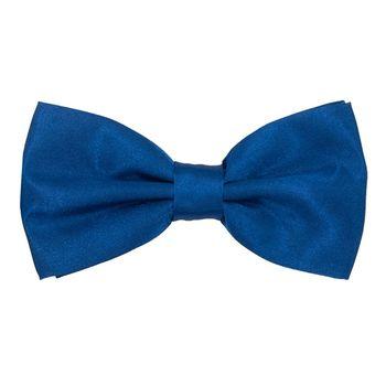 Bow tie for men (blue, microfiber) 56032