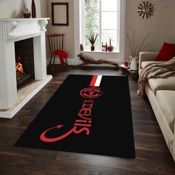Manchester United Non Slip Floor Carpet,Fun Carpet лонгслив printio manchester united 1878